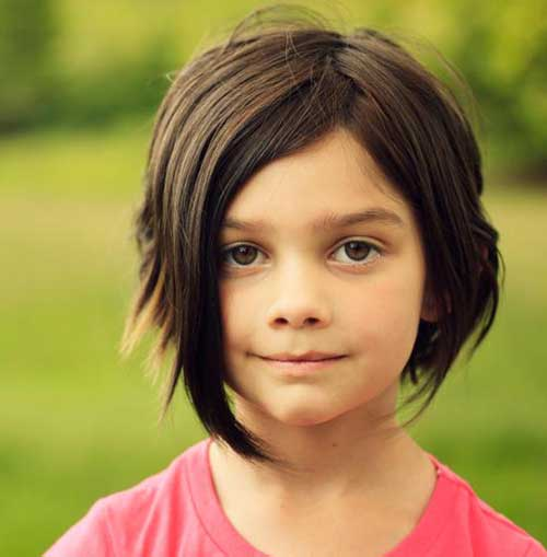 Cute Short Hairstyles for Litte Girls