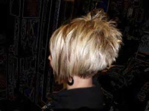 Short Interesting Spiked Hair