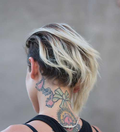 Short Different Dark Blonde Combo