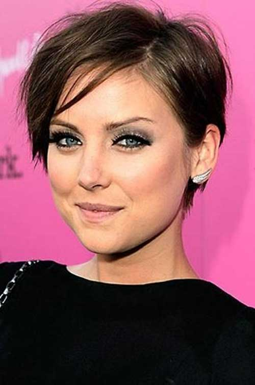 Jessica Stroup Pixie Cut for Thin Hair