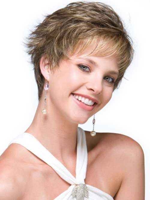 Layered Pixie Cuts for Thin Hairstyles