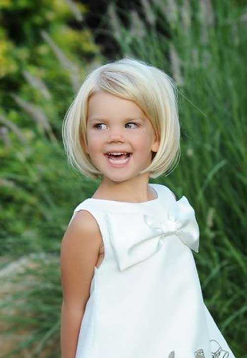 Litte Girl Cute Short Hairstyles