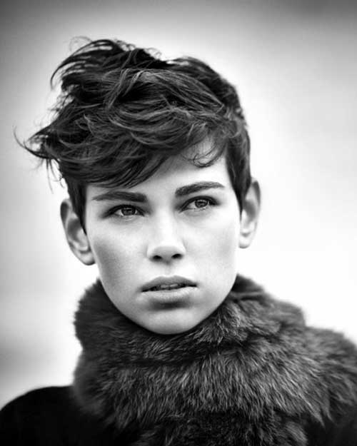 Messy Cute Short Haircuts for Girls