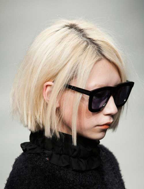 Blonde Bob Hair style