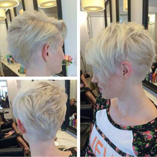 Nice Pixie Cut for Thin Hair