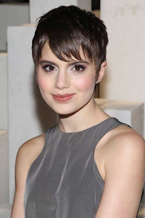 Sami Gayle Pixie Cut for Thin Hair