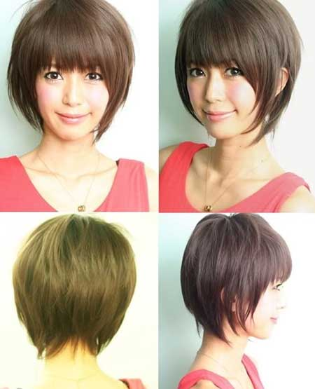 Tremendous Short Hairstyle For Asian Girl Short Hairstyles 2016 2017 Short Hairstyles Gunalazisus