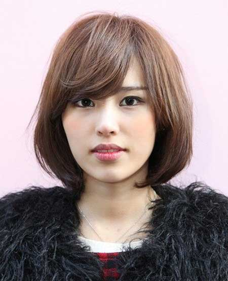 Short Elegant Light Brown Hairstyle