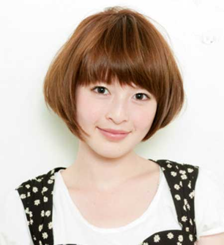 Short Cute Layered Light Brown Hair
