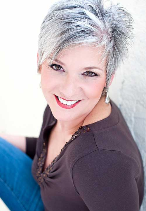 short hairstyles for older women 2014201513