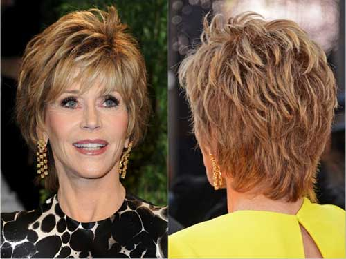 Short Layered and Bouncy Hairstyle for Women 2015