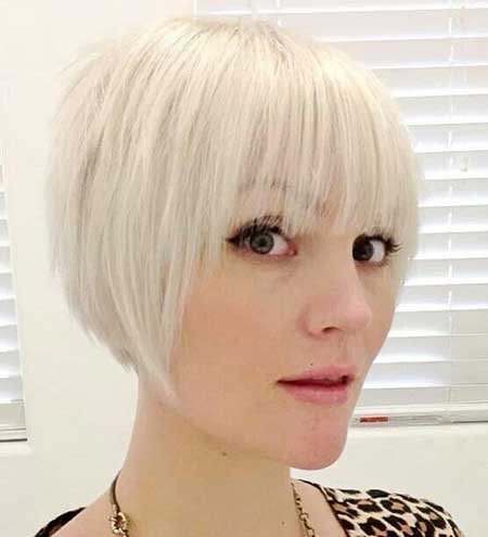 Really Short Bob Thin Bangs