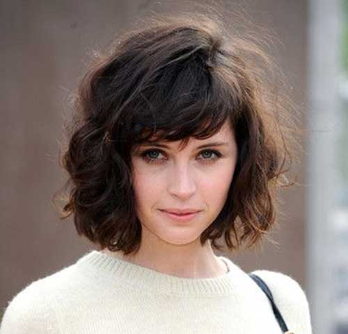 Superb 20 Short Hairstyles For Wavy Fine Hair Short Hairstyles 2016 Short Hairstyles Gunalazisus