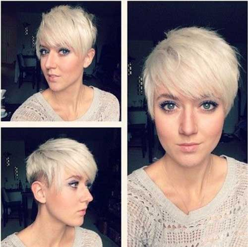 Cute Thin Hair Pixie Cut