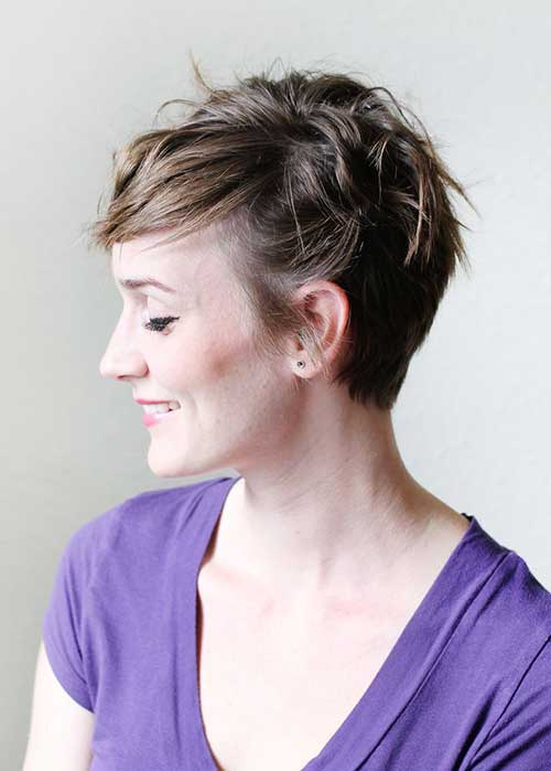 Trendy Pixie Cut for Thin Hair