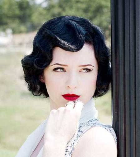 Vintage Hairstyles Short Hair Short Hairstyles 2017