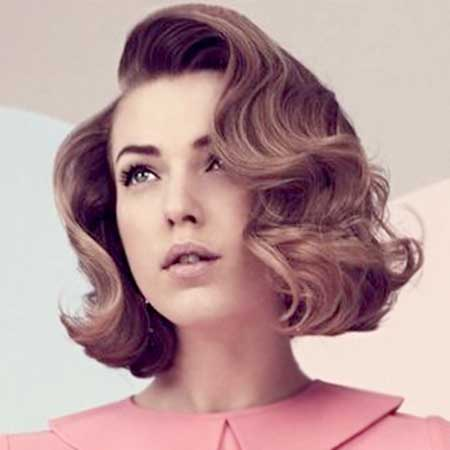 Vintage Hairstyles Short Hair Short Hairstyles 2018 2019 Most