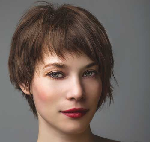 Long Pixie Haircut for Women Over 50