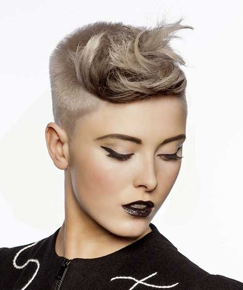 Awesome Asymetrical Pixie Hair for Girls