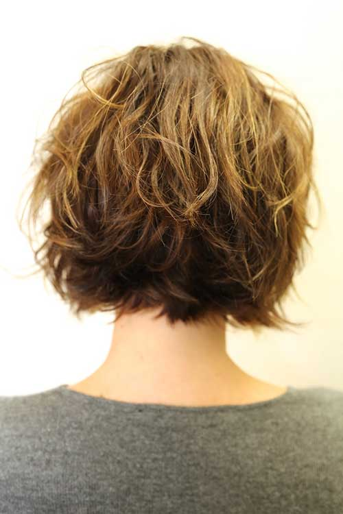 Back View Shoulder Length Layered Haircuts For Thick Hair 47