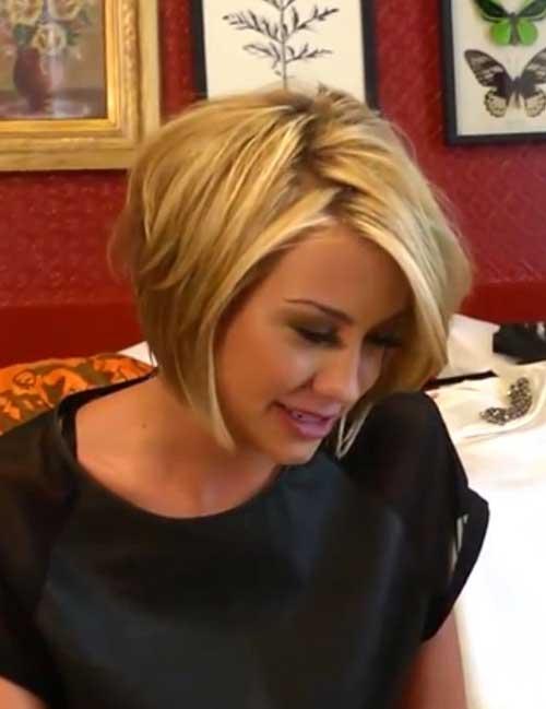 Chelsea Kane Graduated Bob Hairstyle