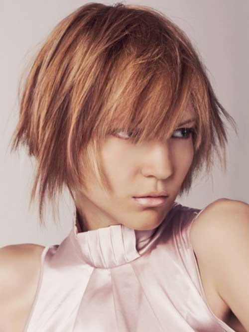 Choppy Layered Hairstyle for 2015