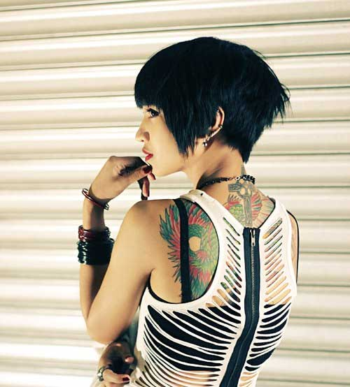 Cool Short Hair for Trendy Girls Style