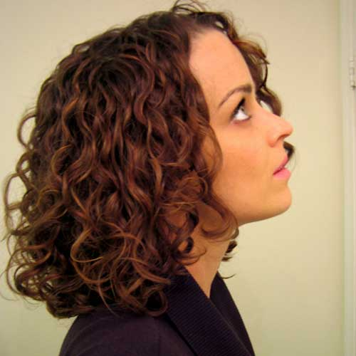 Best Curly Short Hairstyle
