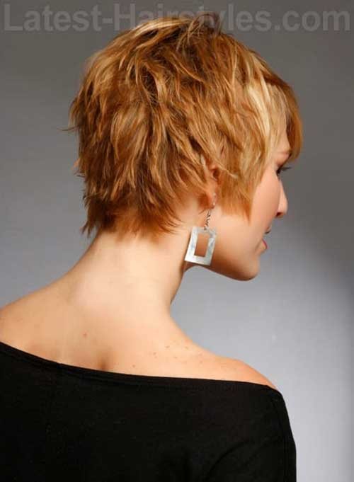 Cute Layered Short Haircuts 2015