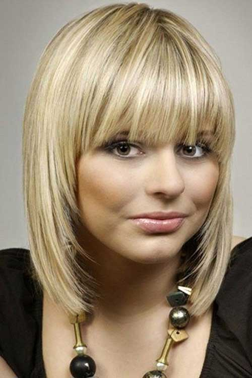 Fabulous Bob Hairstyles with Straight Bangs