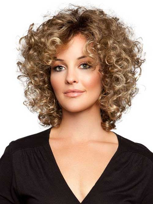 Enjoyable 25 Short And Curly Hairstyles Short Hairstyles 2016 2017 Hairstyles For Women Draintrainus