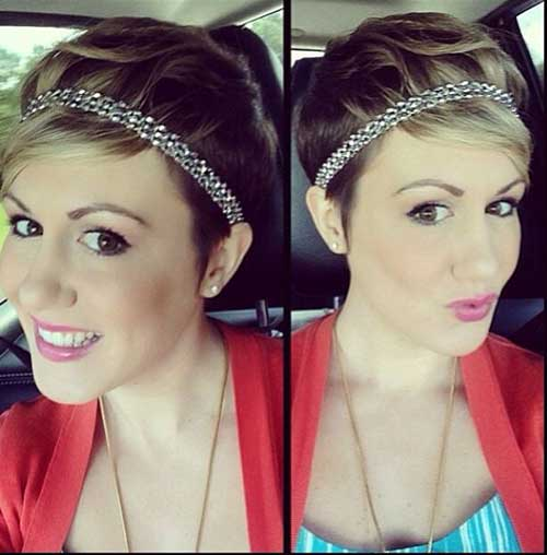 Headbands and Pixie Hairstyles
