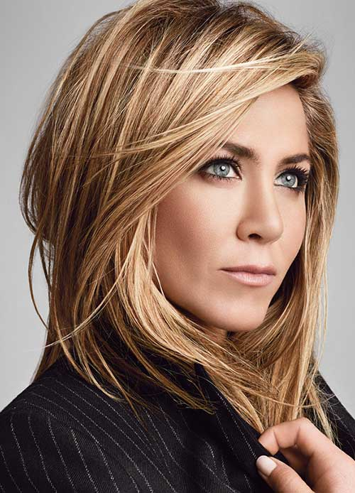 Jennifer Aniston Short Thin Bob