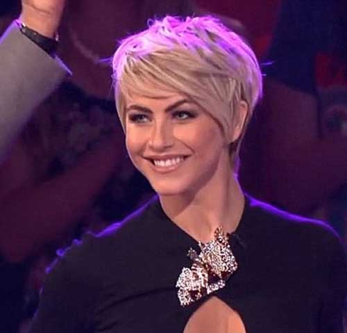Julianne Hough Pixie Hairstyle 2014-2015