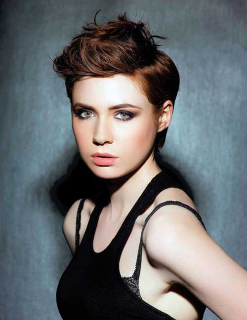 Karen Gillan Pixie Hair For 2015