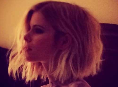Kate Mara Choppy Bob Hair for 2015