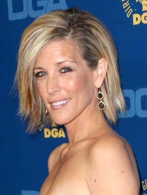 Laura Wright's Choppy Haircut