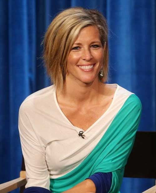 Laura Wright Blonde Bob Celeb Hair