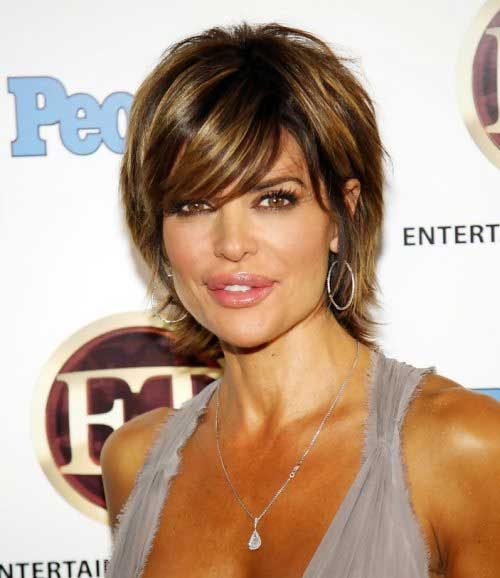 Lisa Rinna Layered Haircuts 2014-2015