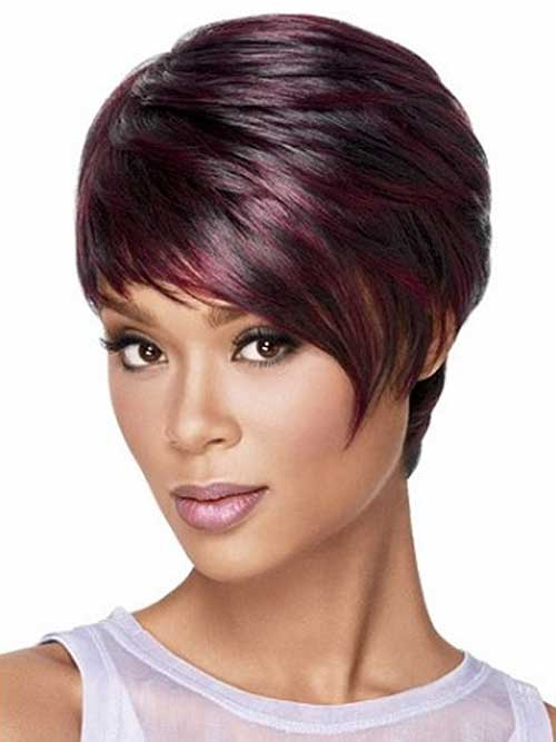 Pixie Cut With Ombre Color Luxhair Ombre Colored Pixie