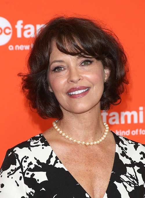 Mary Page Keller Curly Hairstyle