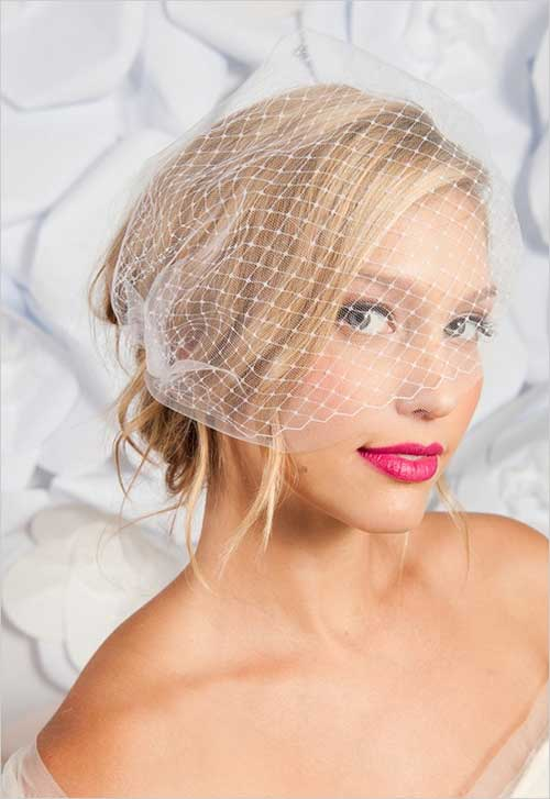 Cute Messy Wedding Hairstyles