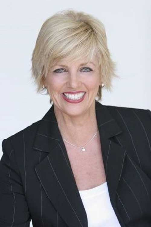 Short Easy Hair for Older Women Style