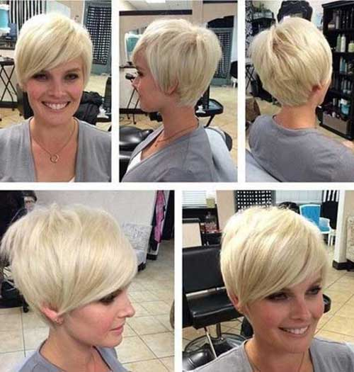 Long Pixie Haircuts with Fringes