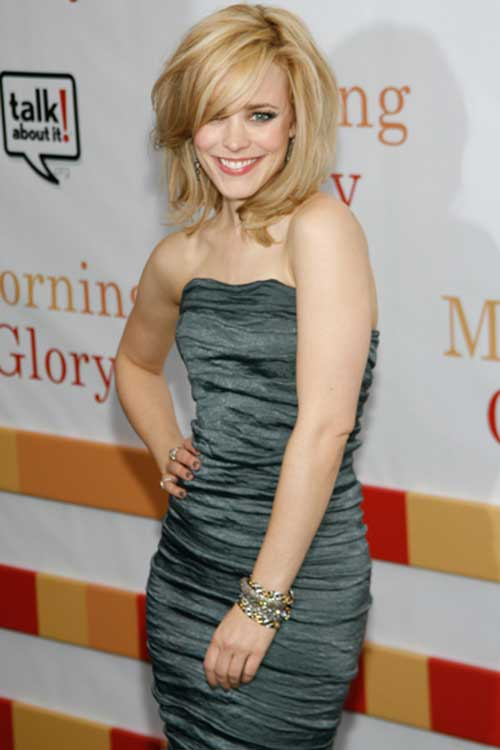 Rachel McAdams Layered Hair