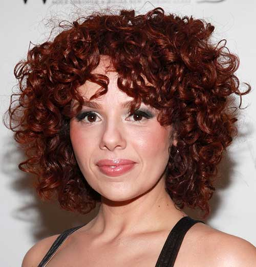 Remarkable Haircuts For Curly Red Hair Best Hairstyles 2017 Hairstyles For Women Draintrainus