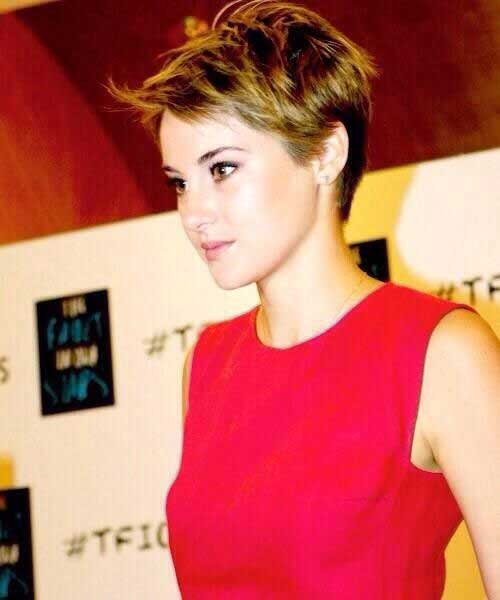 Shailene Woodley Pixie Hairstyles