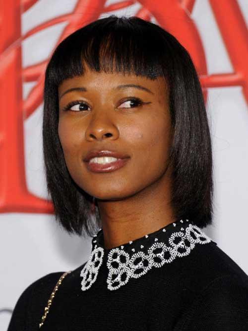 Shala Monroque Hairstyle for Black Women