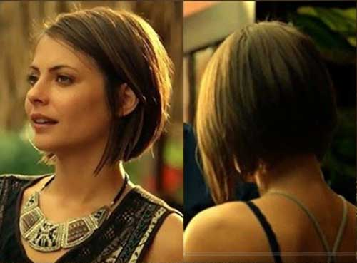 Willa Holland Bob Hair Style