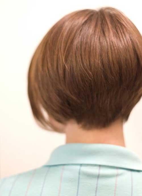 Short Back Bobed Hair Style